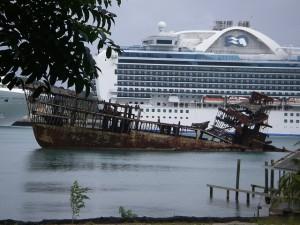 shipwreck eyesore.