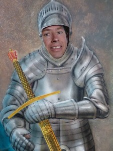 knight of cardboard