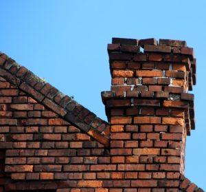 Brick chimney.
