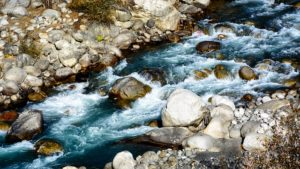 Beas River in the Himalayas.