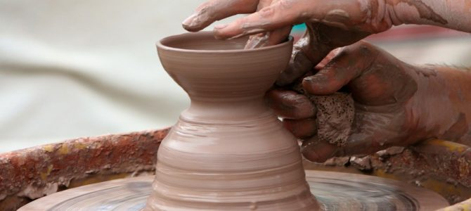 Safe in the Potter's Hands